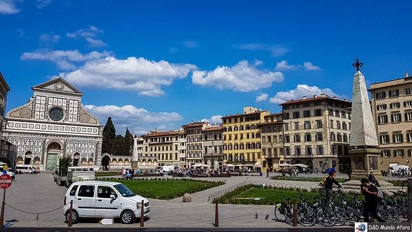 Piazza di Santa Maria Novella - O que fazer em Florença, Itália