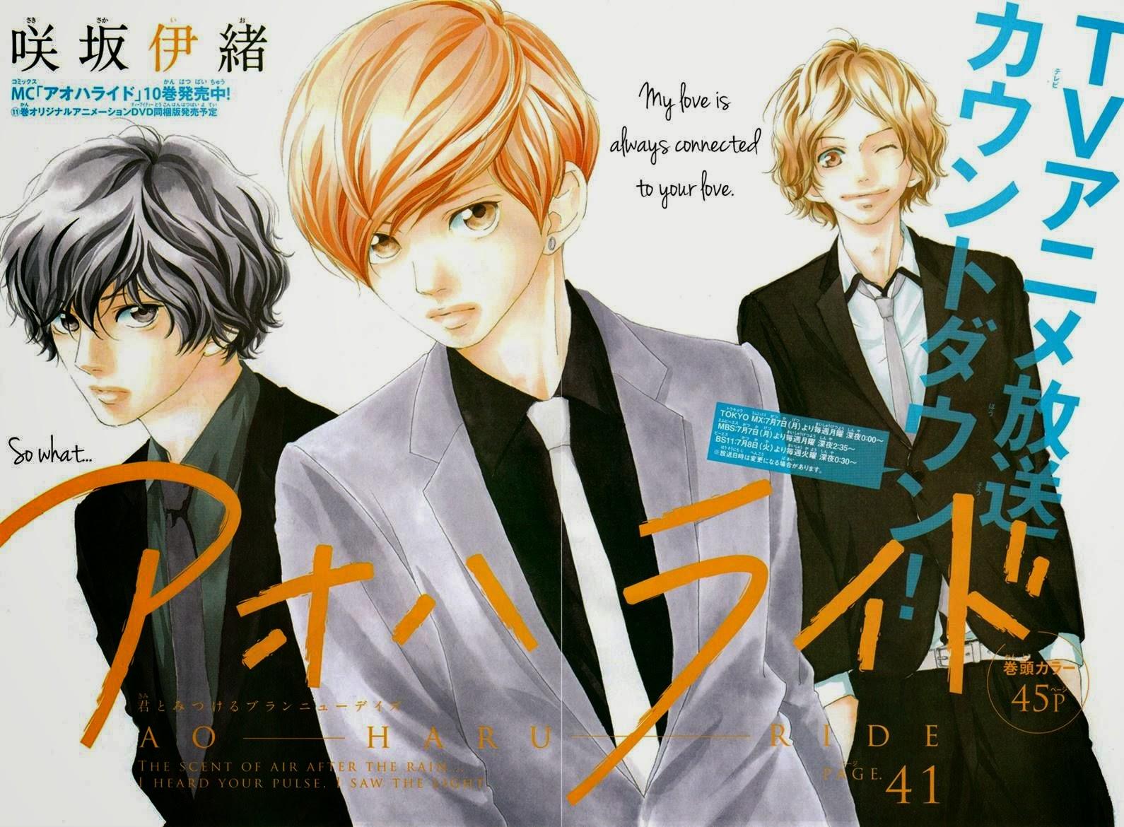 Ao Haru Ride Chapter 41-2