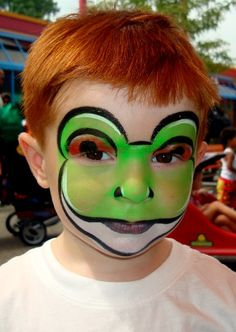 maquillaje de rana