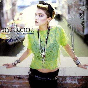 Madonna - Like a Virgin okładka singla