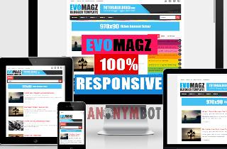 Template Evomagz Premium