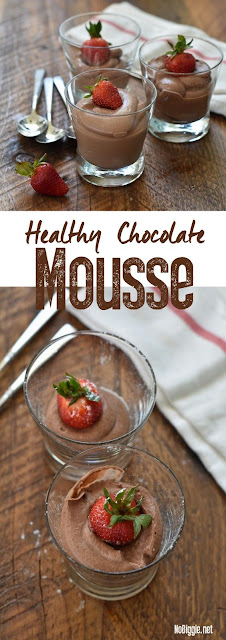 Simple And Healthy Chocolate Mousse