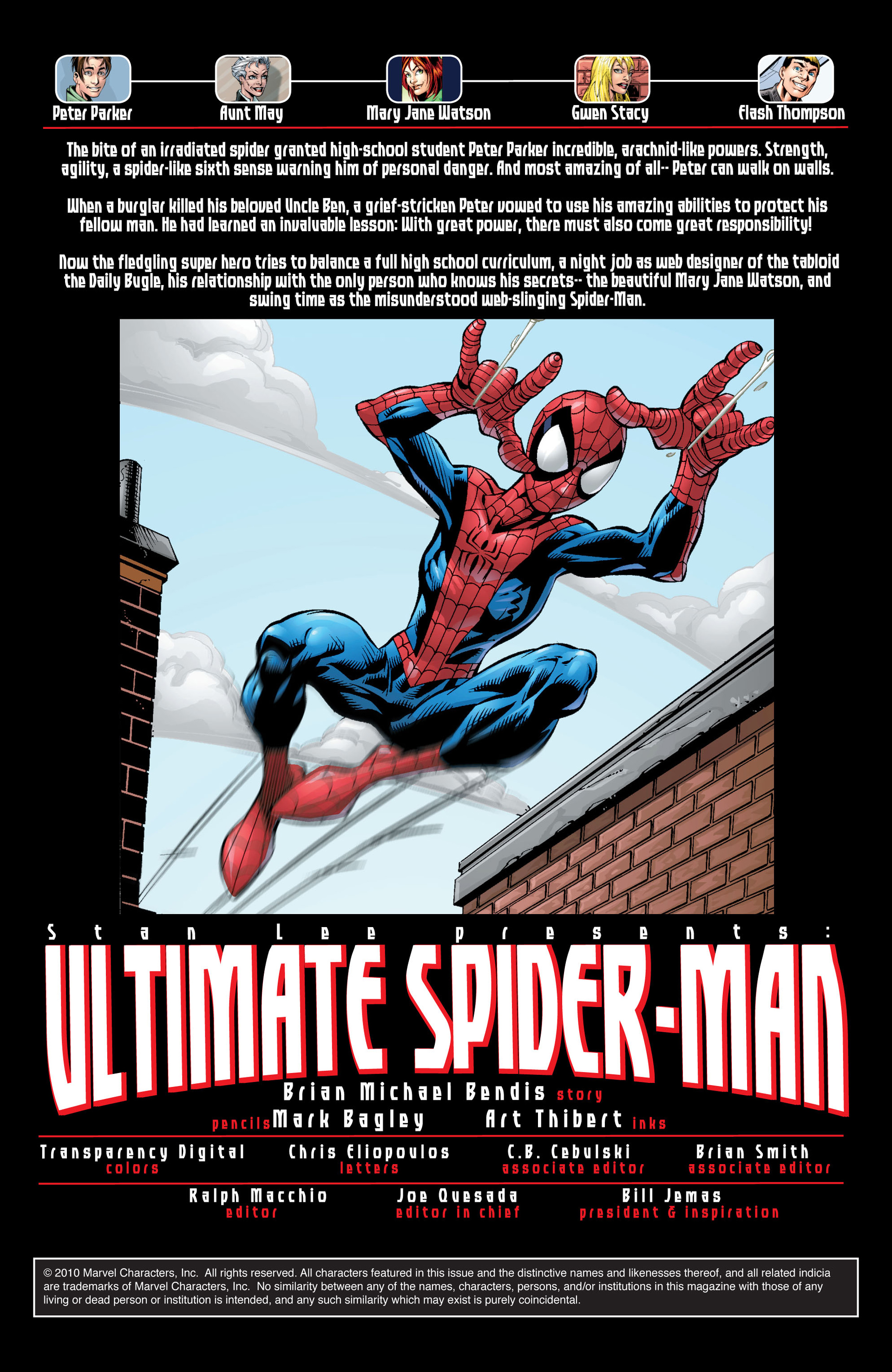 Read online Ultimate Spider-Man (2000) comic -  Issue #29 - 4