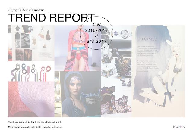 Lingerie & Swimwear trend report A/W 2016-2017 & S/S 2017