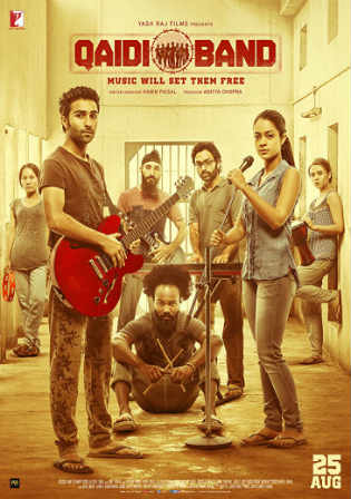 Qaidi Band 2017 DVDRip 350MB Full Hindi Movie Download 480p Watch Online Free bolly4u