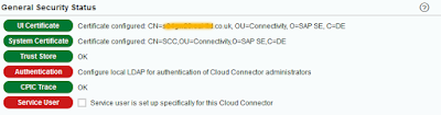 Secure your HANA Cloud Connector with OpenSSL certificates – Part 3