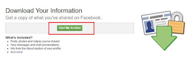 How to backup our facebook message,photo & videos