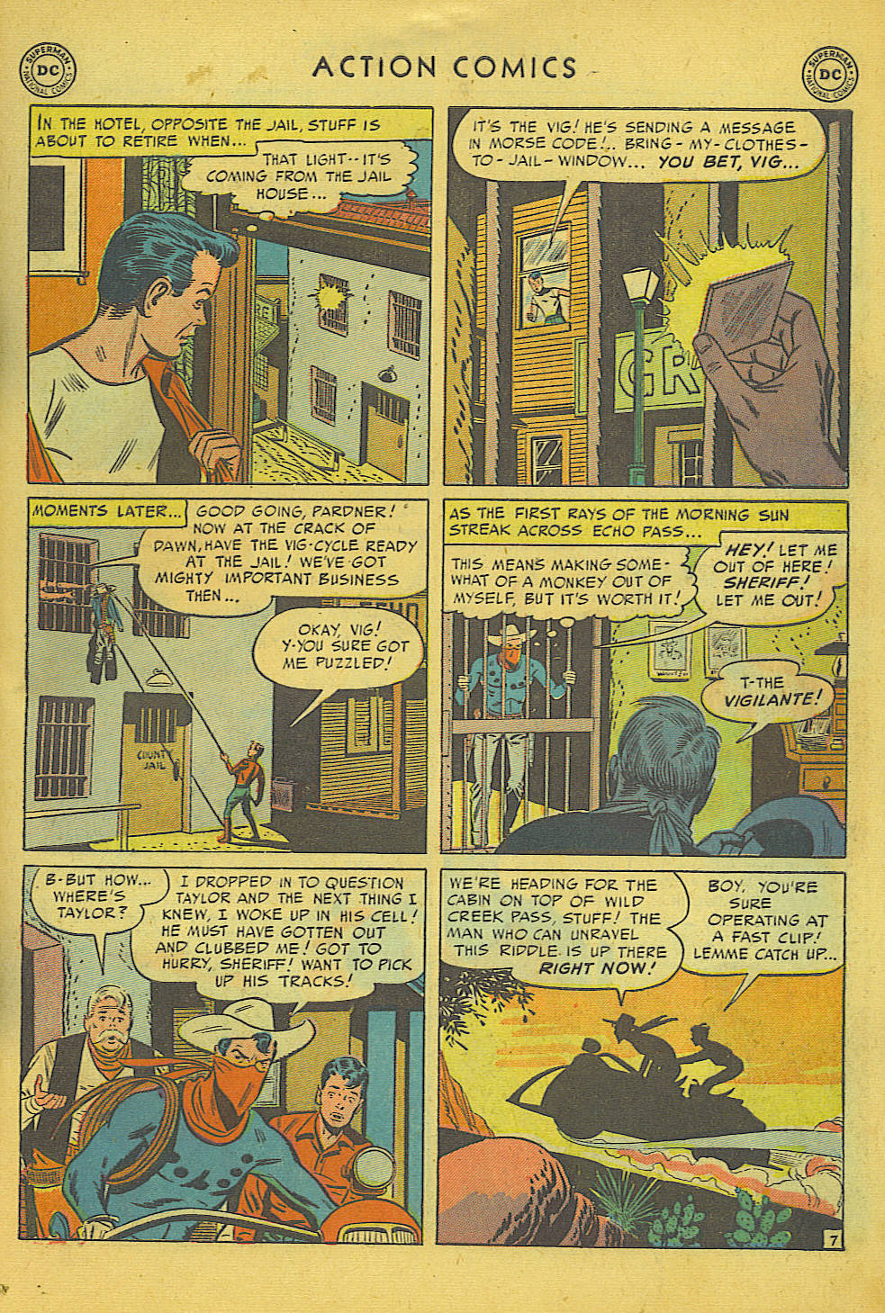 Read online Action Comics (1938) comic -  Issue #157 - 37