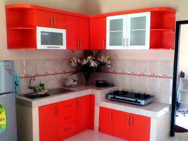 bangun dapur rumah type 36