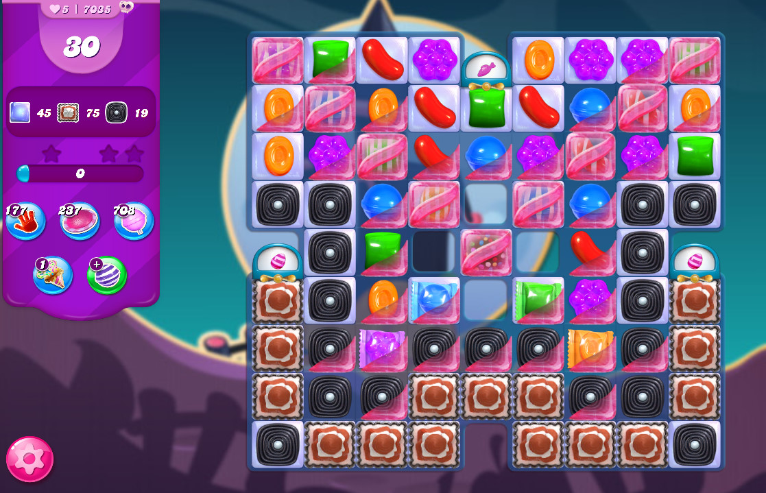 Candy Crush Saga level 7035