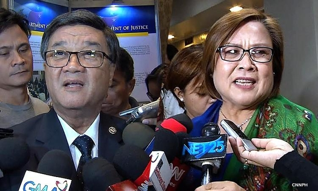 'I may be losing my hair but she is losing her mind,' Says Aguirre to De Lima