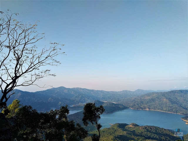 Doyang Dam View From Changsu Village, Wokha, Nagaland