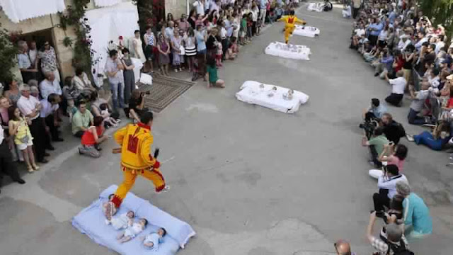 مهرجان القفز فوق الأطفال