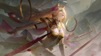 Fantasy, Girl, Warrior, 4K, #4.3109