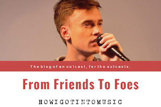 From Friends To Foes New Lyrics by George