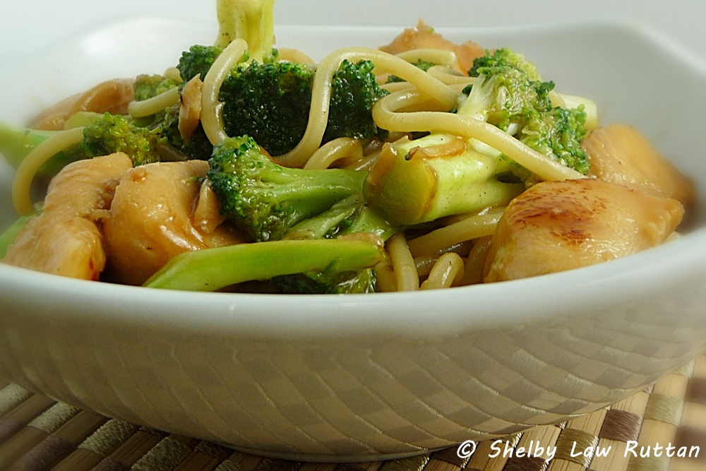 Chicken And Broccoli Noodle Stir Fry