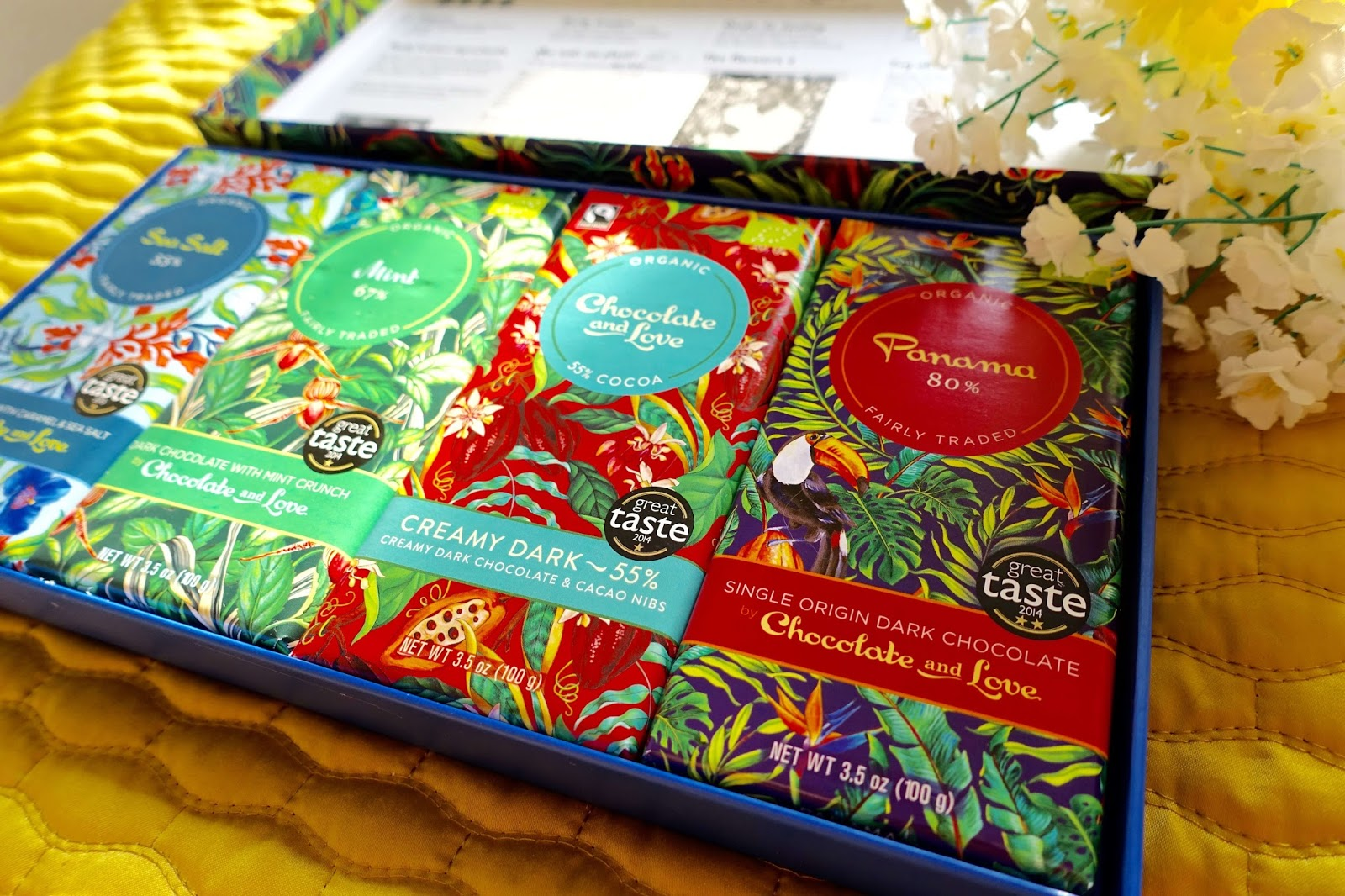 award winning ethical chocolate flavours