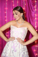 Hansika Motwani Sizzles in a Deep neck Sleevless Pink Gown at Zee Telugu Apsara Awards 2017 13.JPG