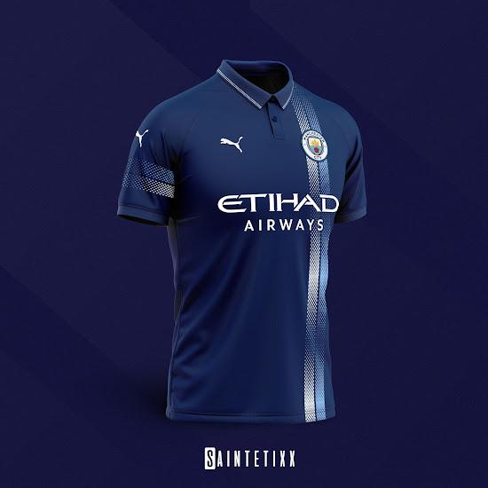quality design 03bac 1c849 Classy Puma x Manchester City Concept Kits by Saintetixx ...