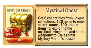 Mystical Chest (Golden chest)