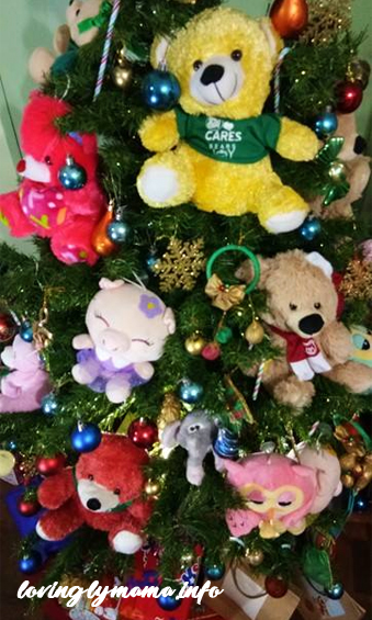 DIY Christmas decorations - stuffed toys and teddy bears - Bacolod mommy blogger - home design - home decors - SM Bears of Joy