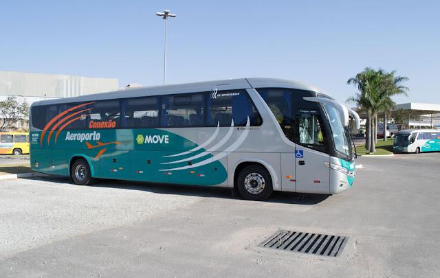 Horáro de ônibus de Contagem