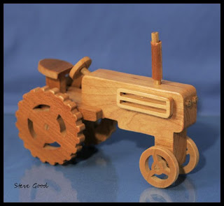 Billy: Easy Wooden Tractor Plans Wood Plans US UK CA