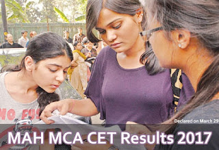 DTE Maharashtra MAH MCA CET Results 2017, MAH MCA CET DTE Results, MAH MCA CET 2017 Results