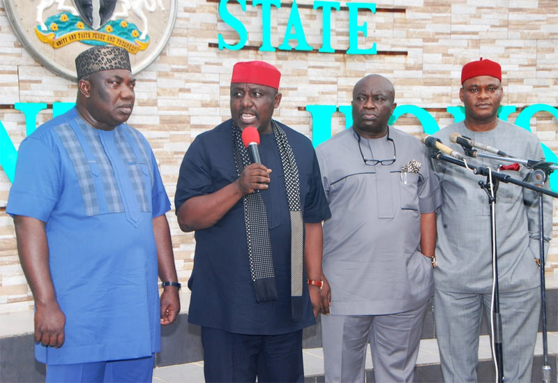 Ohaneze threatens to send 3 Southeast governors on exile