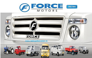 Force Motors Recruitment Notification Fresher Apply Online