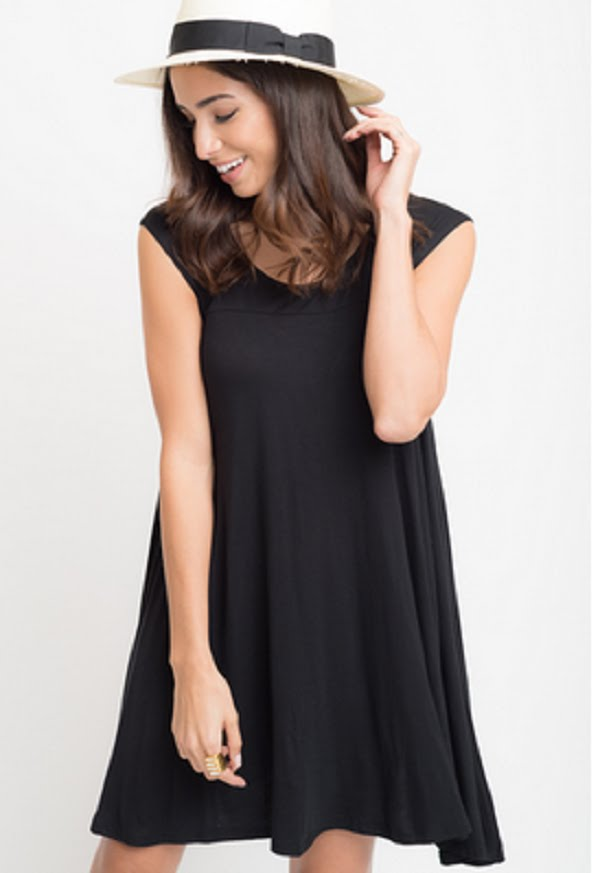 cap sleeve tunic