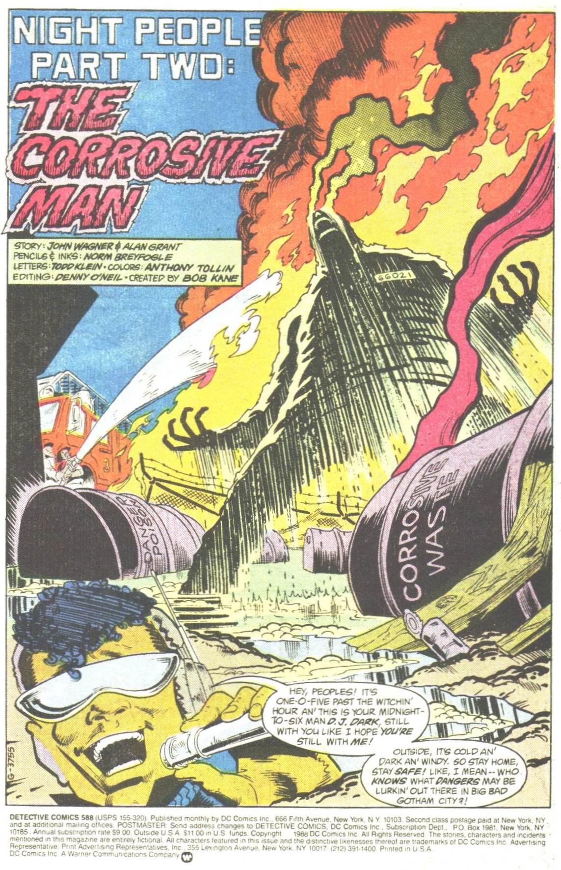 Detective Comics (1937) 588 Page 1