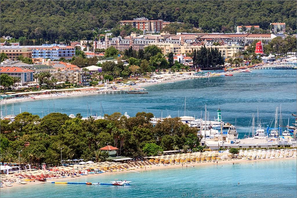 Турция Кемер море экскурсия TUI