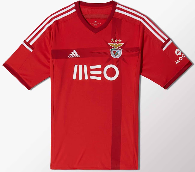 5ebdc8ed07e Benfica 14-15 Home and Away Kits Released - Footy Headlines