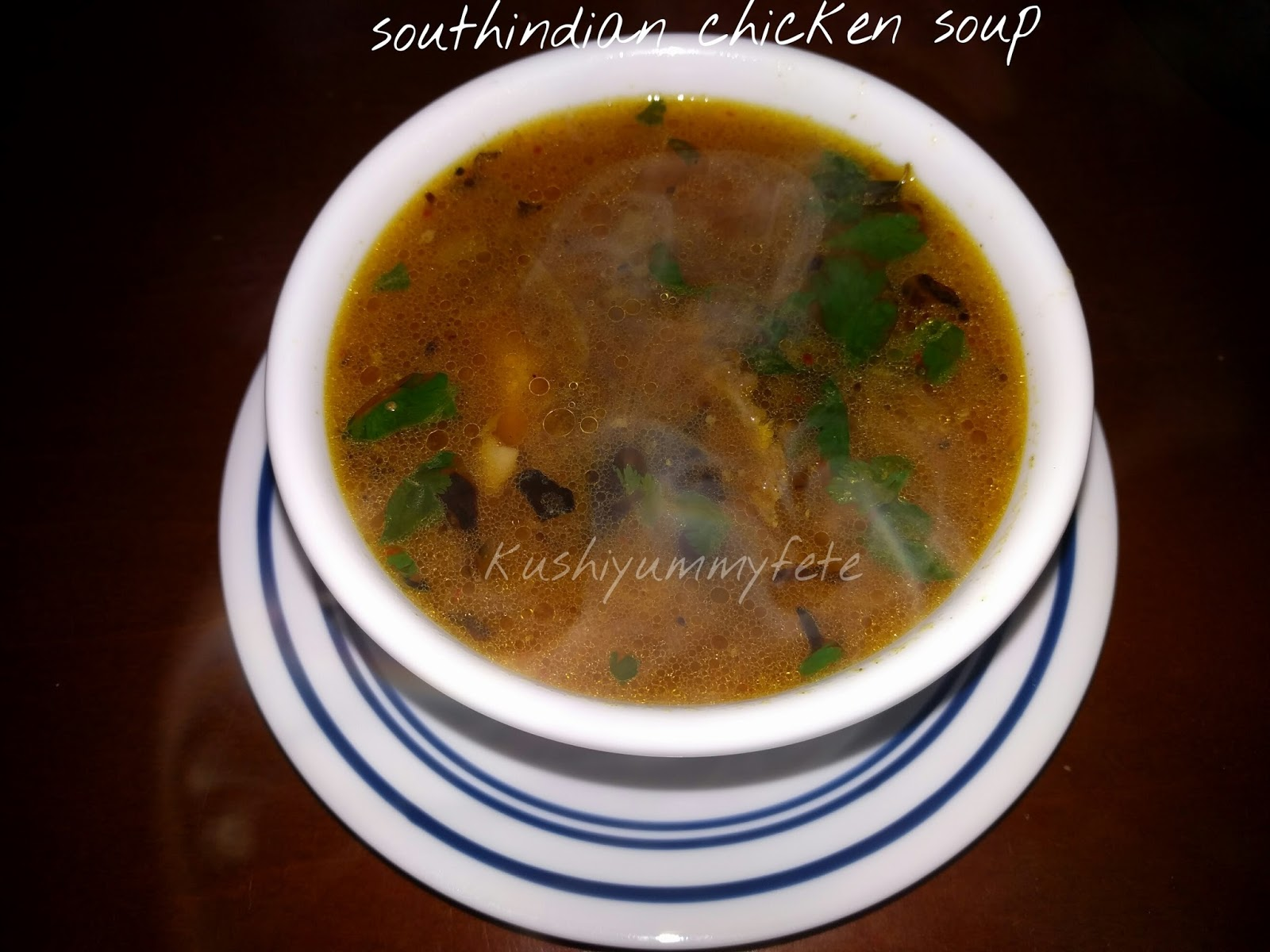 Kushinds rasoi homemade chicken soupsouth indian chicken soup recipe southindian chickensoup forumfinder Gallery