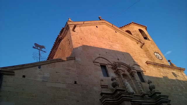 Cae la veleta toro de la iglesia de San Bartolomé