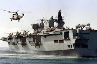 Porta-helicópteros de assalto anfíbio Ocean teria sido oferecido ao Brasil