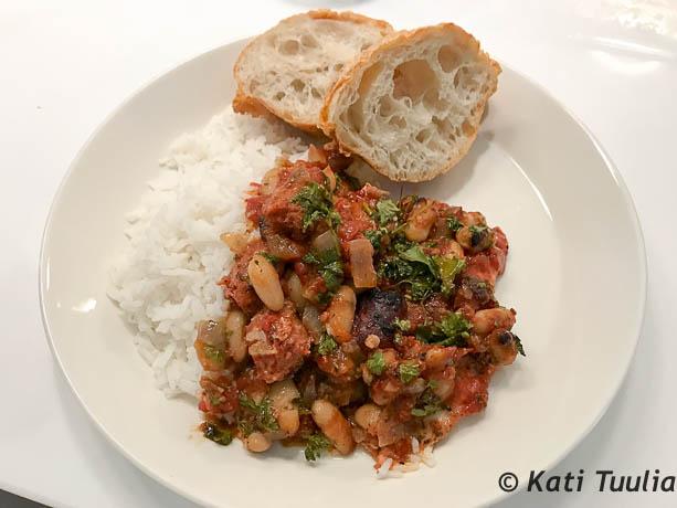 Chorizo-kanapata