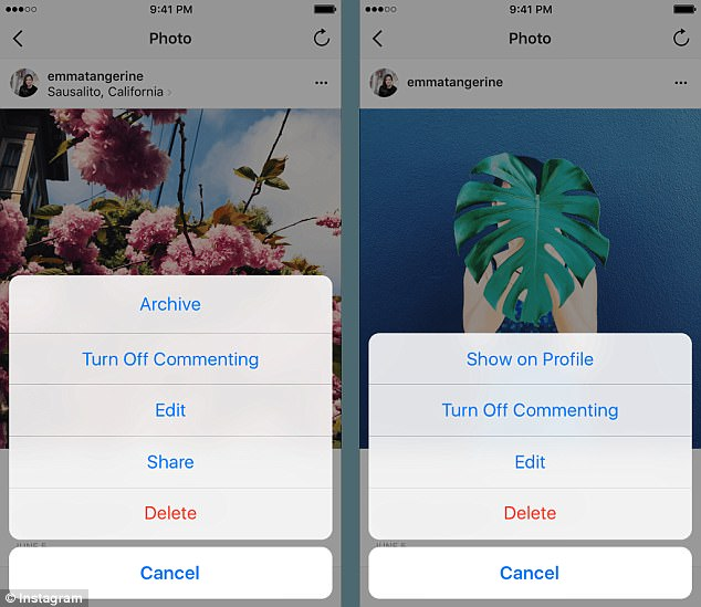 New Instagram Features Help Hide Embarrassing Photos