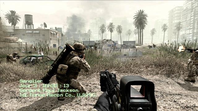 تحميل لعبة الاكشن والمهمات الرهيبة Call Duty Modern Warfare