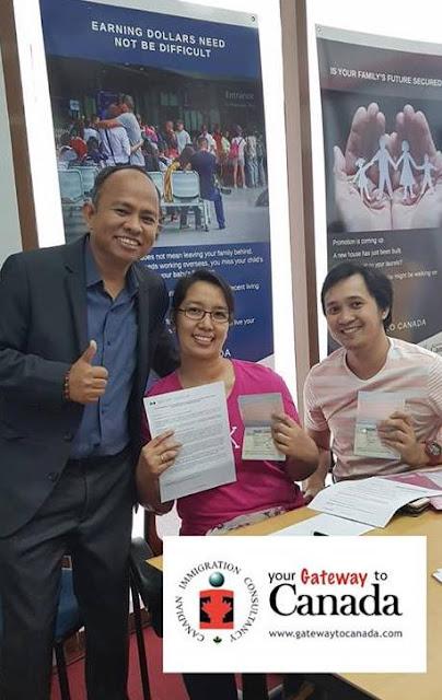 Grace Magcawas - Study Visa