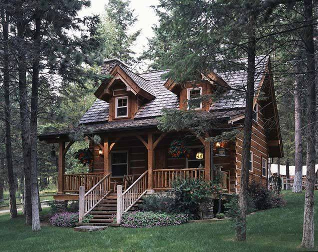 15 best wooden house design minimalist classic and simple for Wood cabin homes