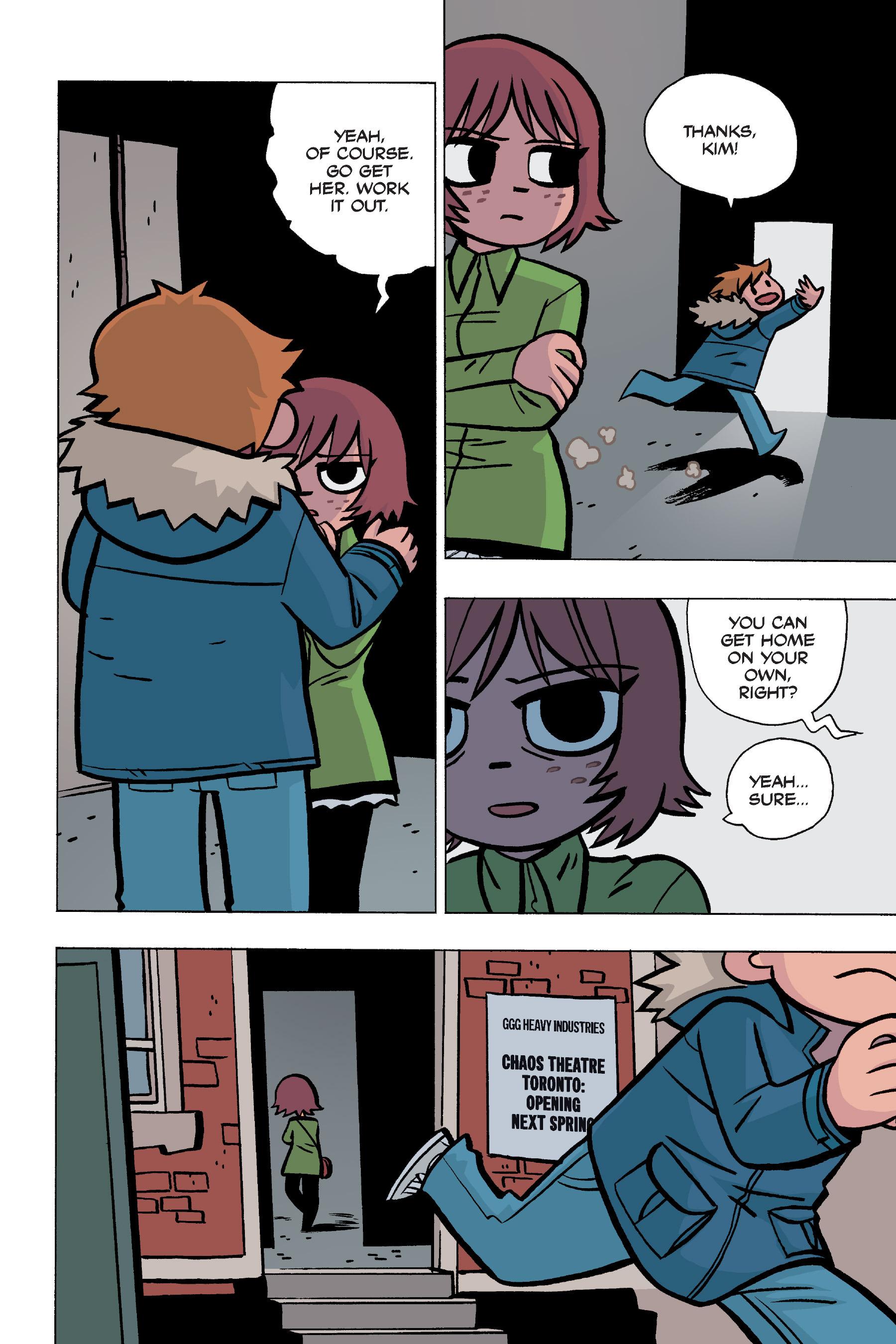 Read online Scott Pilgrim comic -  Issue #5 - 134