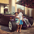 Photogist: Peter Okoye's Children Pose With Their Father's Chrysler Prowler In New Pictures