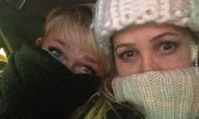 """Xuxa pega carro com motorista com """"desodorante vencido"""""""