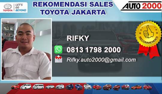 Rekomendasi Sales Toyota Tebet Jakarta
