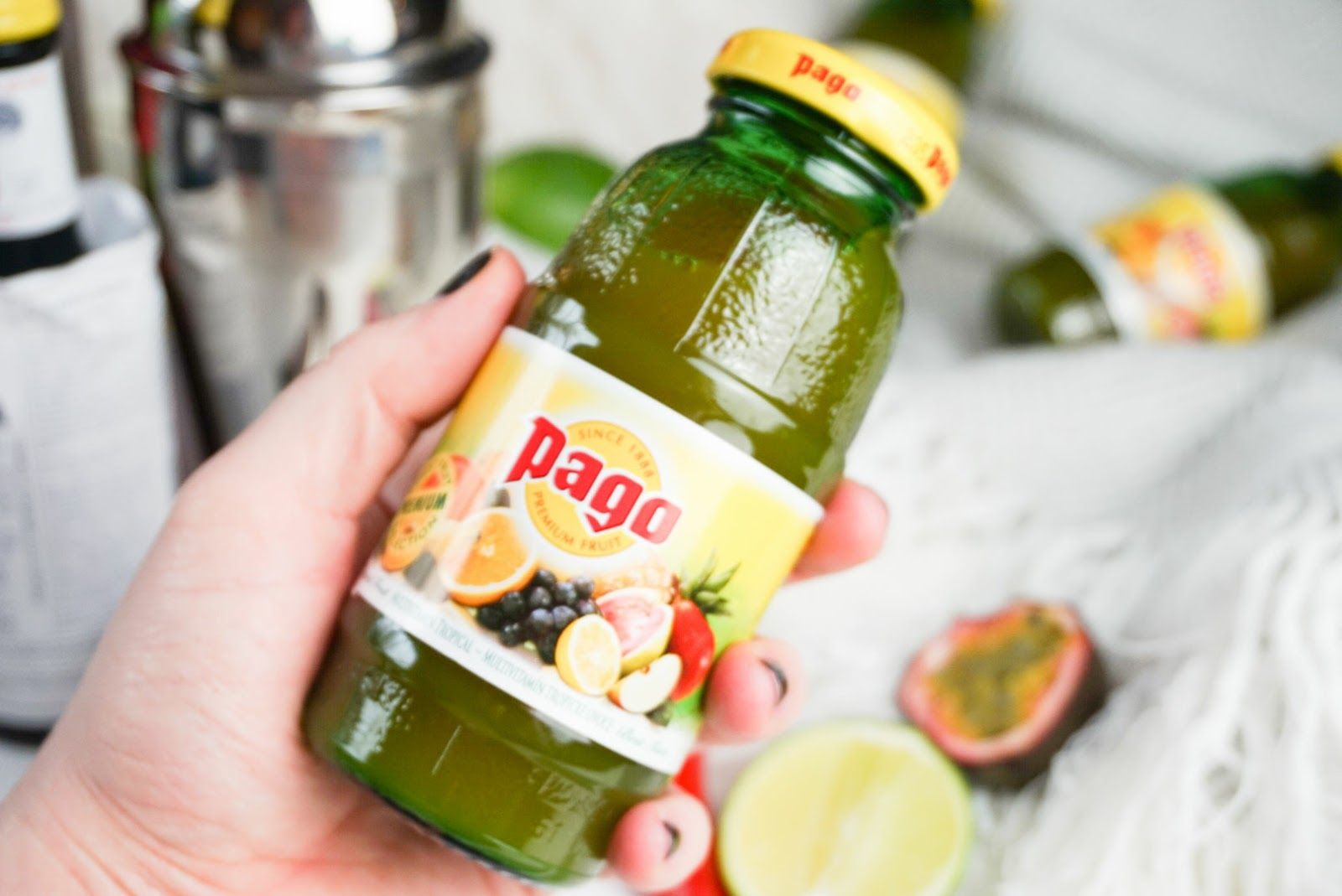 Pago Fruit Juice Review Cocktail Recipe