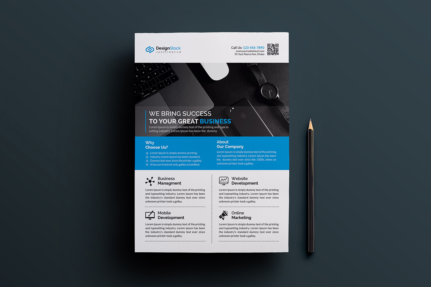 corporate flyer flyer template free download clean flyer
