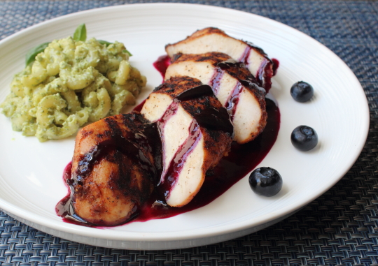 Red, White, & Blueberry Grilled Chicken | Juicy 4th Of July Chicken Recipes Perfect For Your BBQ Party | free cooking recipes