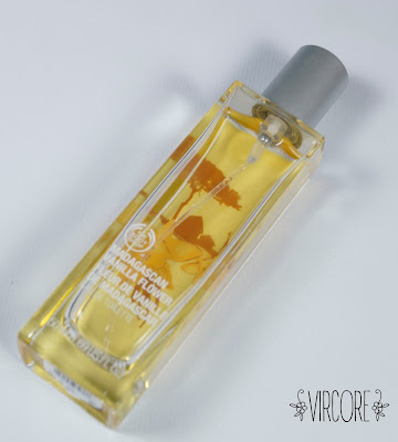 the body shop madagascan vanilla flower